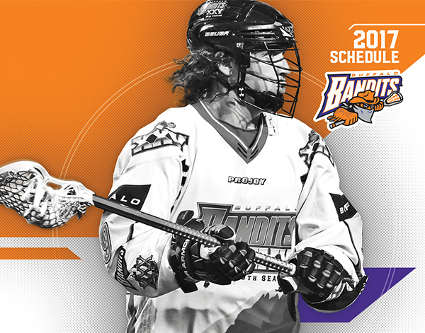 2017 Buffalo Bandits Campaign Print/Digital Design Collateral 1 desktop